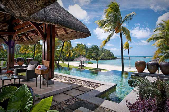 Le Touessrok is one of the famous beach resorts in Mauritius