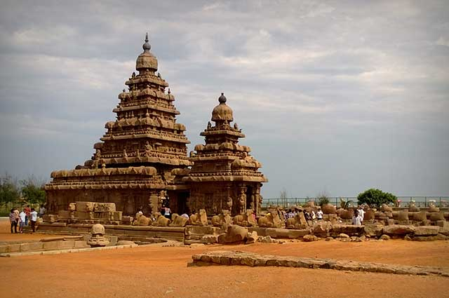 Mahabalipuram is a UNESCO World Heritage Site in India