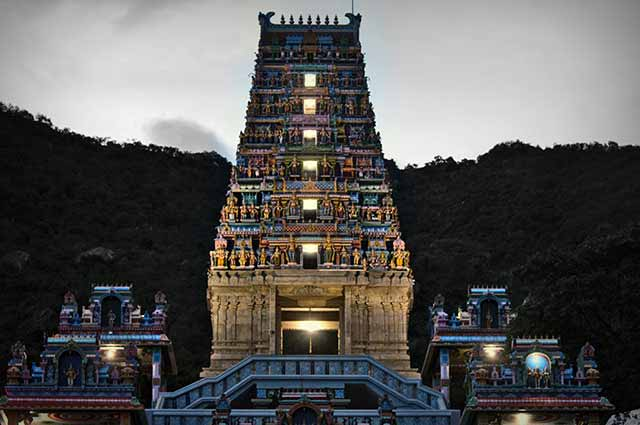 Marudhamalai Hill Temple is a popular Hindu shrine in Coimbatore