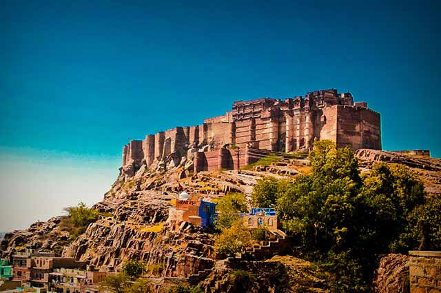 Mehrangarh Fort is a magnificent marvel located in Jodhpur
