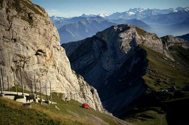 Mount Pilatus is a well-known travel attraction in Switzerland