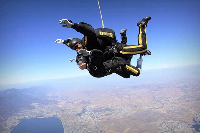 Mysore is one among the best places to enjoy the valiant venture of skydiving in India