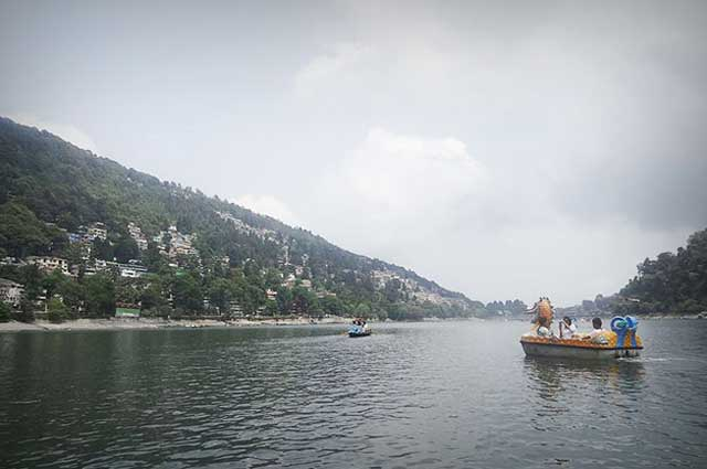 Nainital Lake is one of the famous lake in Nainital