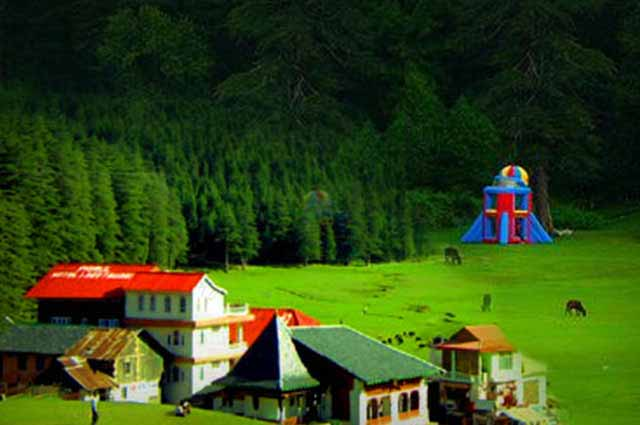 Panch Pulla is a well-known attraction of Dalhousie