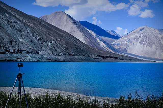 Pangong Tso Lake in one of the famous lake in Ladakh