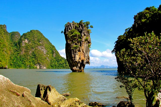Phang Nga Bay is a beauteous water body in Phuket