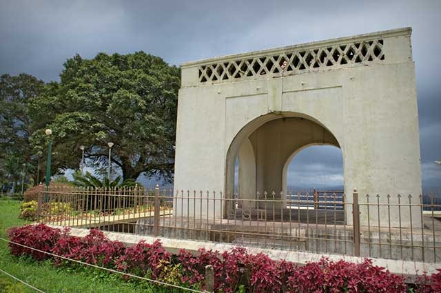 Rajas Seat is one of the famous tourist spot in Madikeri