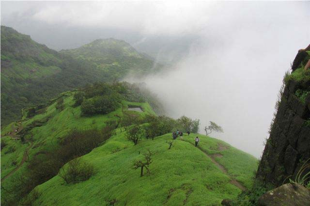 Rajmachi is well known tourist spot in Rajmachi