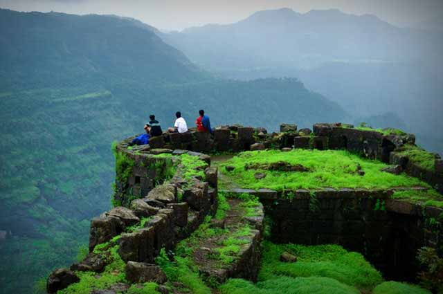 Rajmachi Fort is one of the famous fort in Khandala