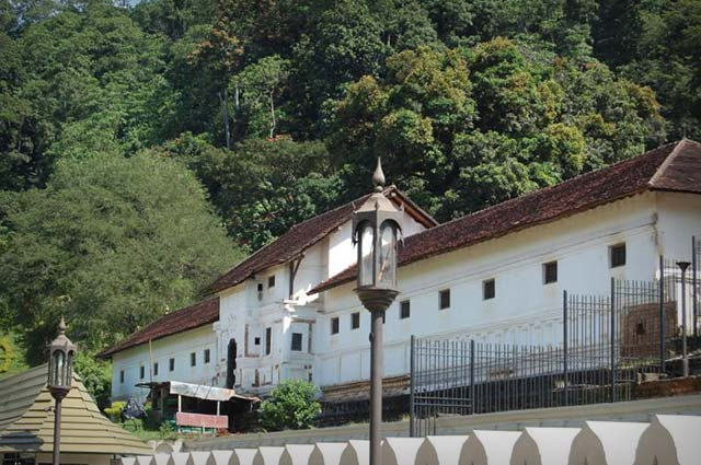 Royal Palace of Kandy is one of the famous tourist place in kandy