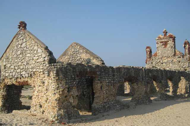 Church of Dhanushkodi is one of the amazing places to visit in Rameswaram