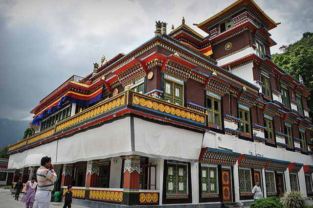 Rumtek Monastery is one of the most popular places to visit in Gangtok