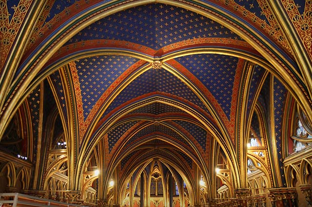 Sainte-Chapelle is one of the best place to visit in paris