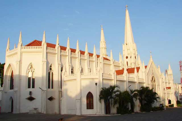 San Thome Church is one of the famous tourist destination in chennai