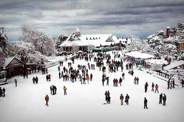 Shimla is the most visited city in Himachal Pradesh
