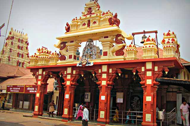 Shri Krishna Temple is well known temple in Udupi