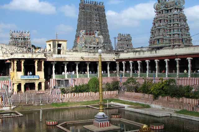Sri Meenakshi Temple is the most-visited Hindu shrines in Madurai