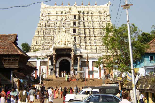 Sri Padmanabhaswamy Temple one of the most visited temple in Trivandrum