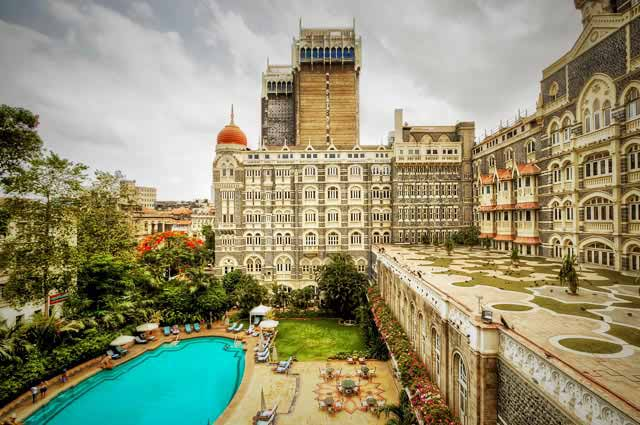 Taj Mahal Palace Hotel is one of the haunted places in Mumbai