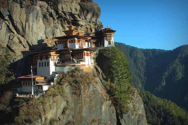 Taktsang Palphug Monastery is one of the famous monastery in Bhutan