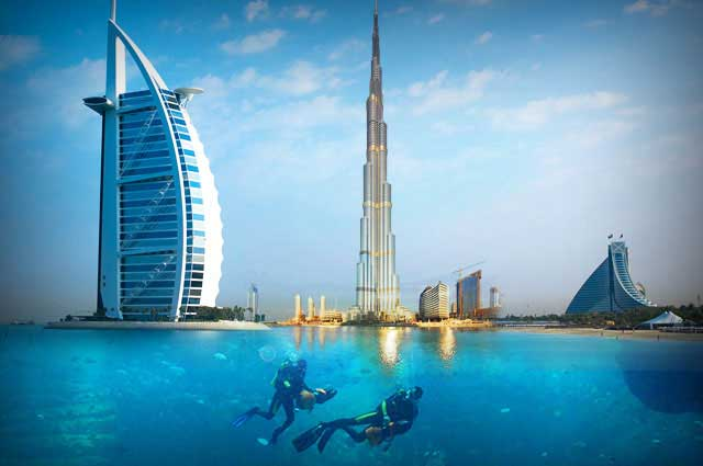 Dubai destinations to visit for Dubai places to stay