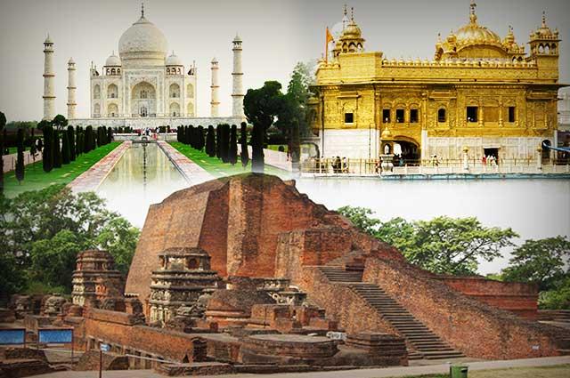 The Allurement of 7 Wonders of India