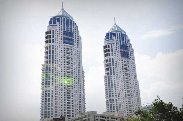 The Imperial, Twin Towers is one of the tallest building in India
