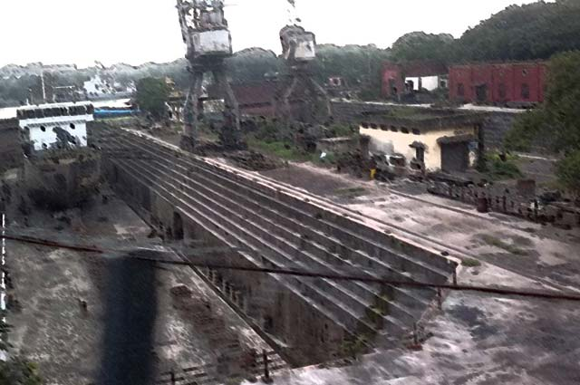 The Kolkata Dock is one of the haunted place in kolkata