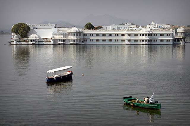 The Lake Palace is one of the most famous places in Udaipur