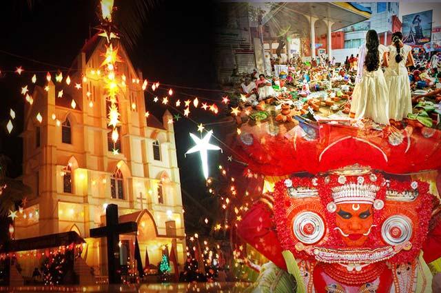 The Popular Festivals of Kerala