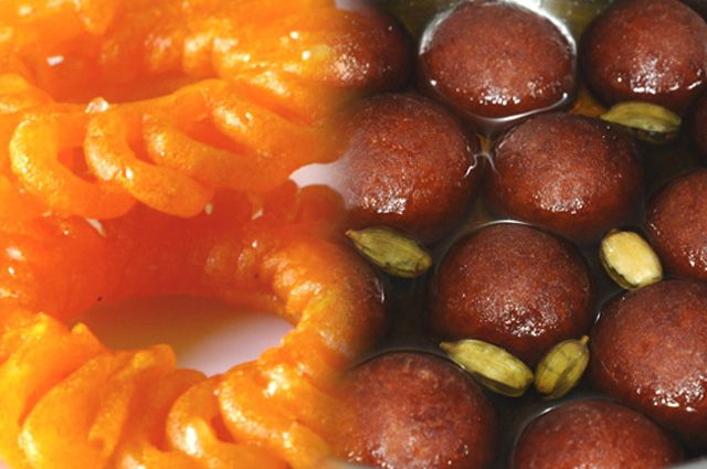 The Small Menu of Indian Sweets