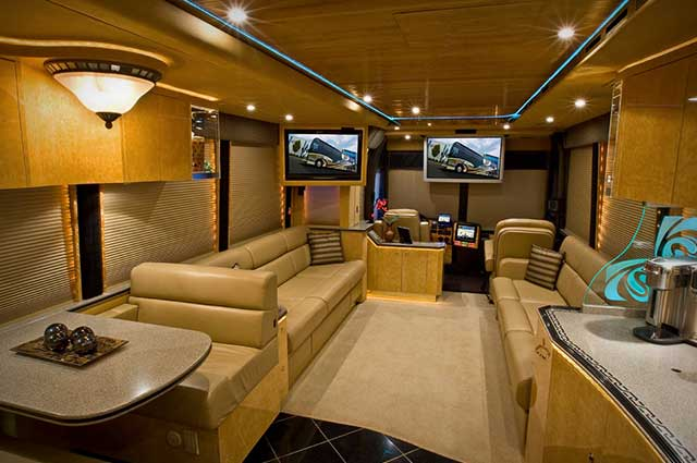 The Vantare Platinum Plus is one of the luxurious bus