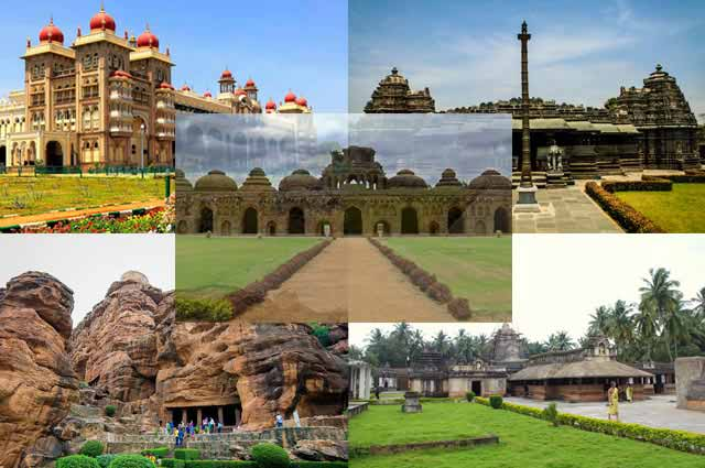 Top 25  Historical Places in Karnataka