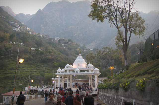Vaishno Devi is a frequented pious temple town located in Katra