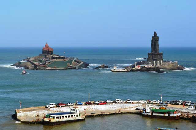 Vivekananda Rock Memorial  is a well-known monument located in Kanyakumari
