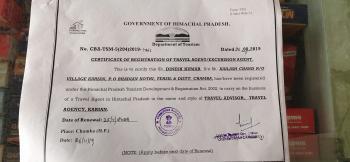 Certification Travel Advisor