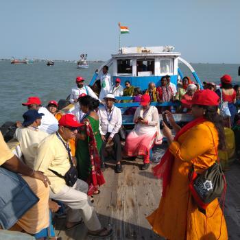 Group visited Bet Dwarka
