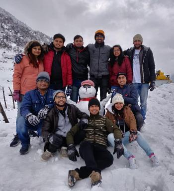 Himesh, Student trip to Sikkim