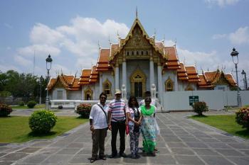 Mr Banerjee, Thailand tour