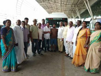 C K Prasad, Odisha trip