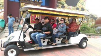 Ms Chakraborty, Darjeeling trip