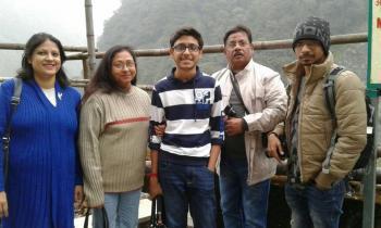 Ms Das,Sikkim tour