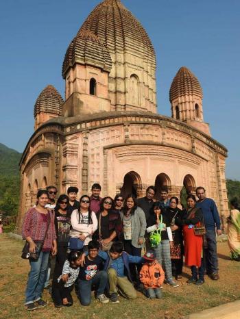 Mr Chakraborty, Purulia Tour