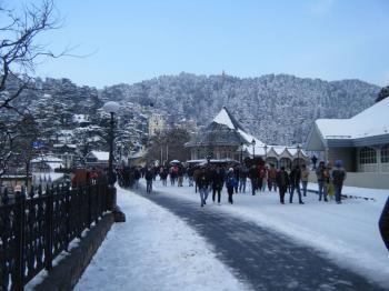 Rishav, Student group tour to Shimla