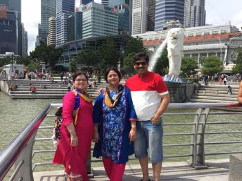 Mr Mukherjee, Singapore, Malaysia, Indonesia, Thailand tour