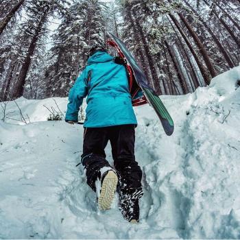 Snowboarding in  tosh kuttla