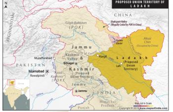 New map of ladakh ut