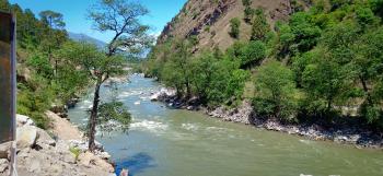 Beas river side
