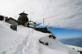 Snow fall Pic at Tungnath