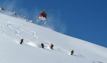 Kashmir Heli ski  Gulmarg